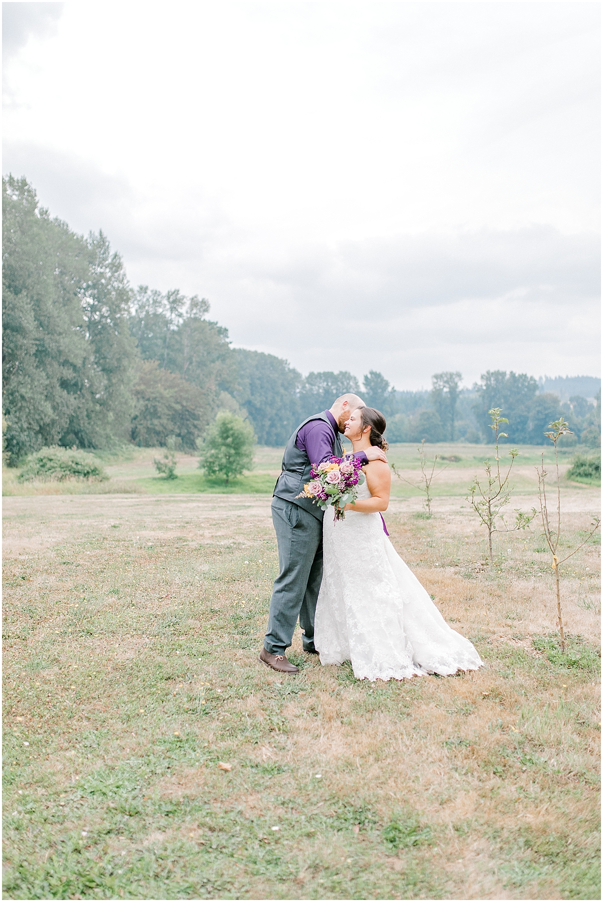Sunflower themed wedding with purple accents, Emma Rose Company Seattle Wedding Photographer, Light and Airy photographer Kindred Presets Wedding Details PNW_0115.jpg