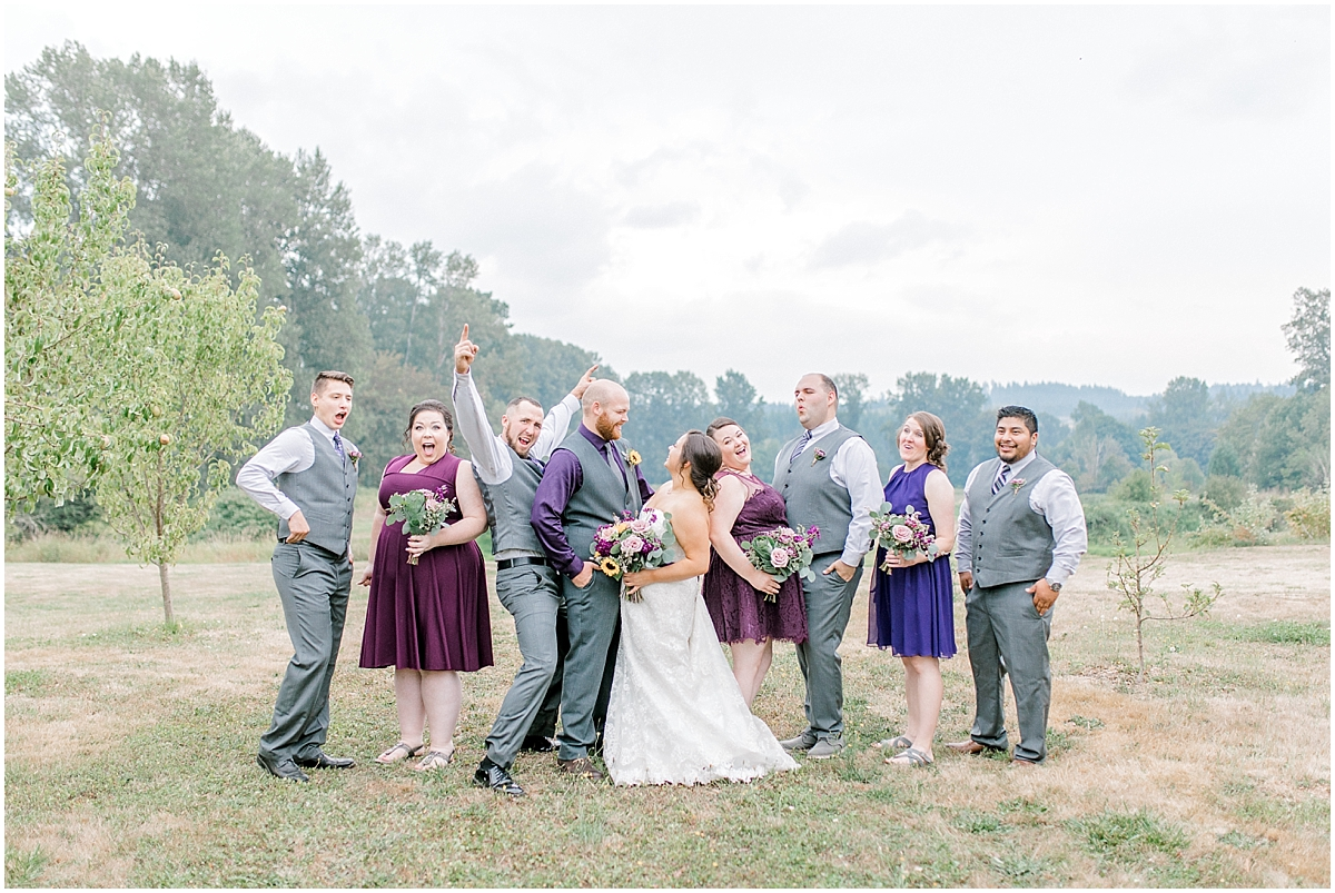 Sunflower themed wedding with purple accents, Emma Rose Company Seattle Wedding Photographer, Light and Airy photographer Kindred Presets Wedding Details PNW_0124.jpg