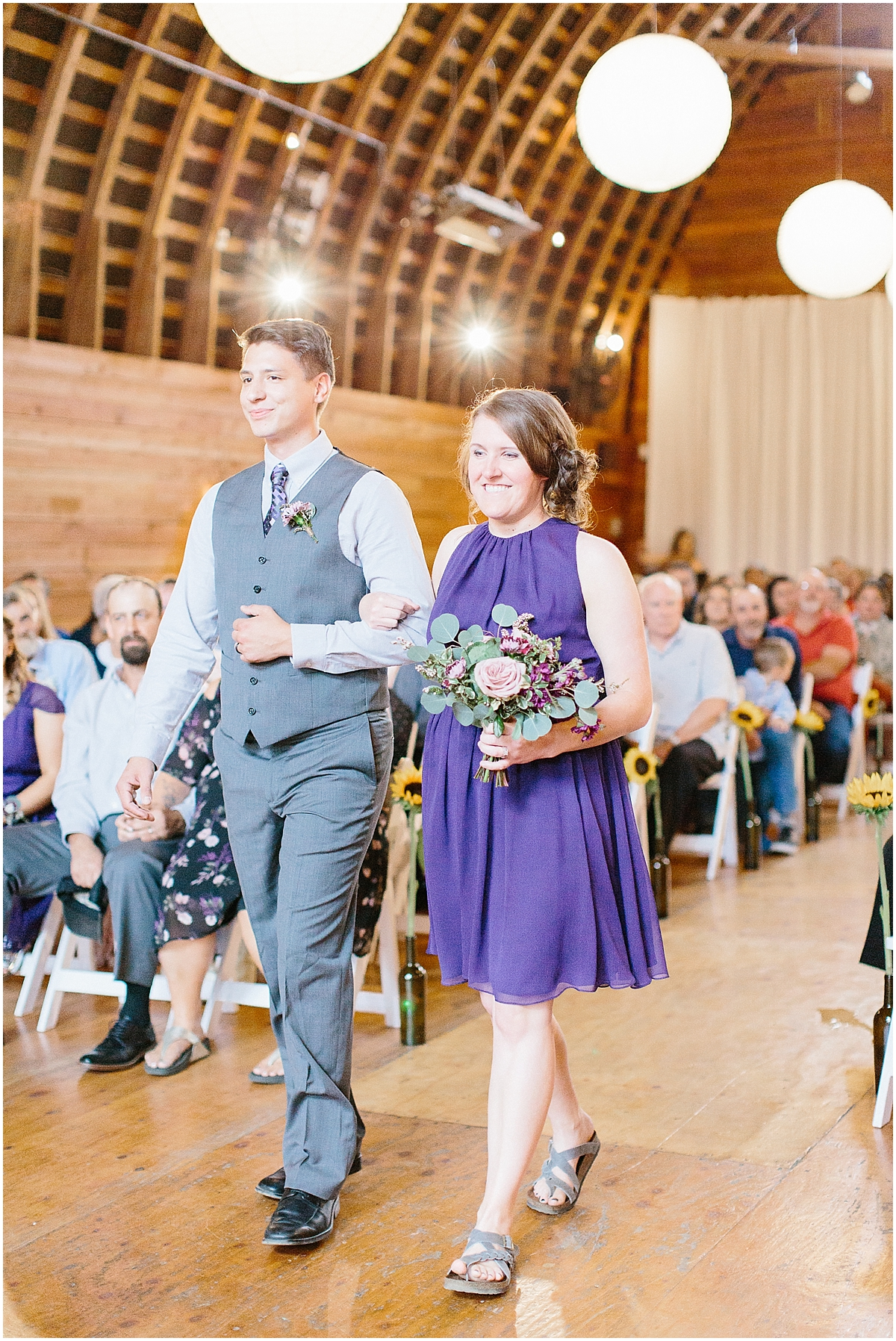Sunflower themed wedding with purple accents, Emma Rose Company Seattle Wedding Photographer, Light and Airy photographer Kindred Presets Wedding Details PNW_0140.jpg