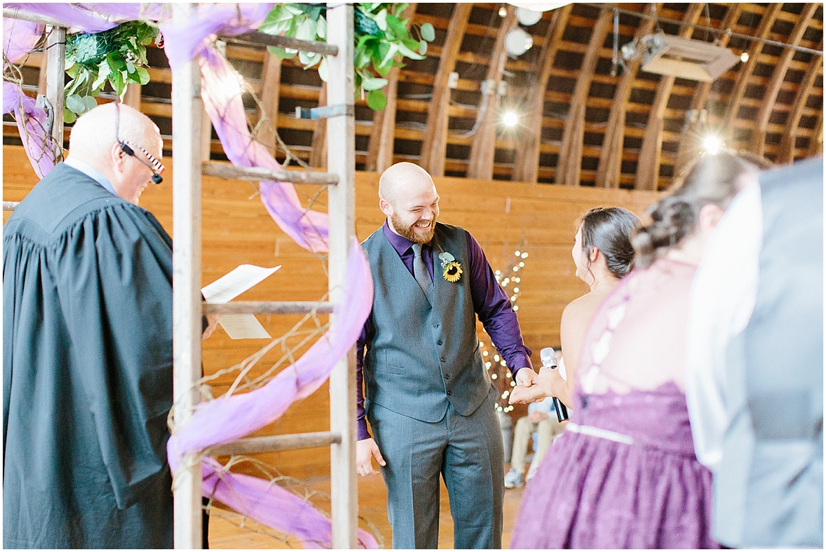 Sunflower themed wedding with purple accents, Emma Rose Company Seattle Wedding Photographer, Light and Airy photographer Kindred Presets Wedding Details PNW_0143.jpg