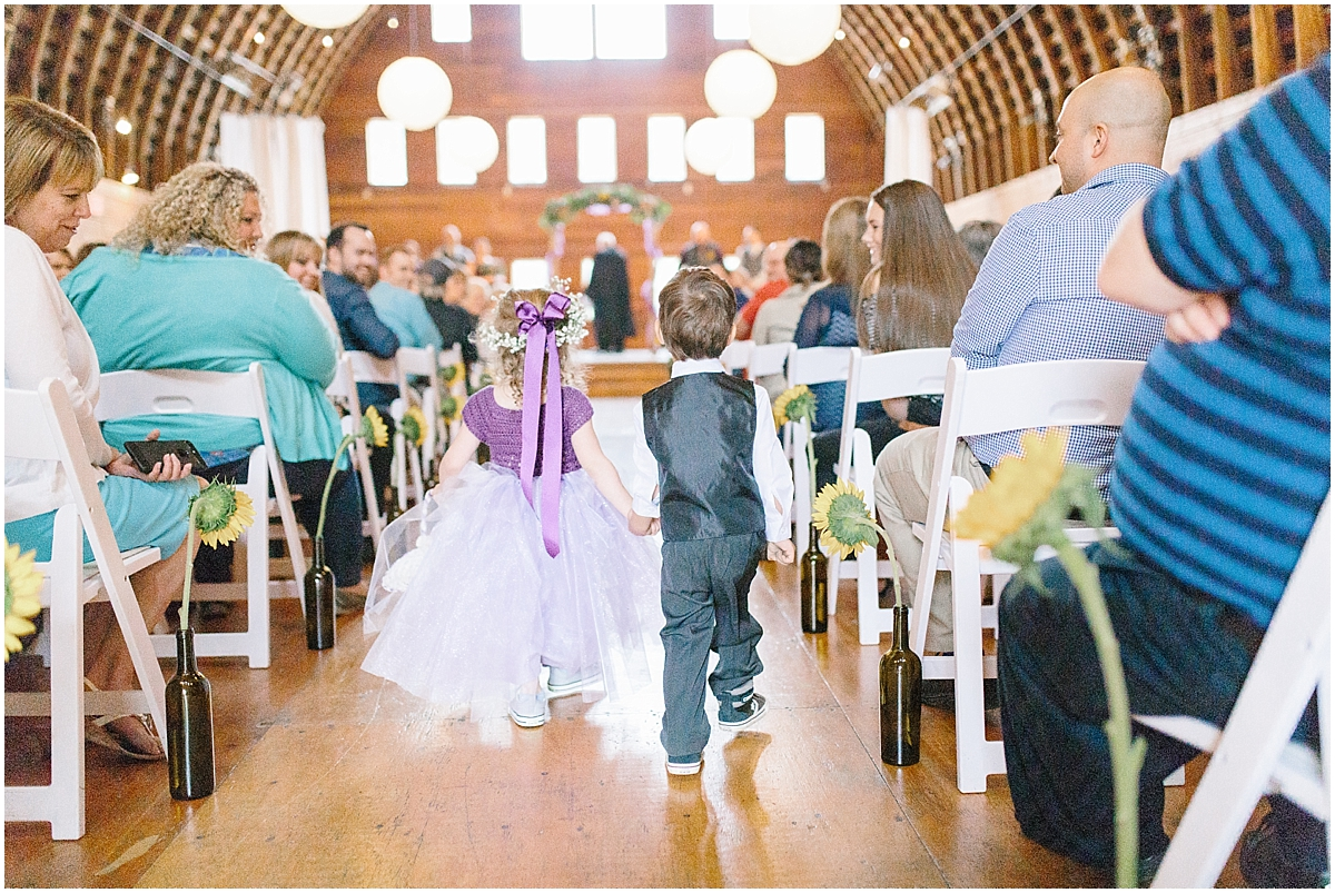 Sunflower themed wedding with purple accents, Emma Rose Company Seattle Wedding Photographer, Light and Airy photographer Kindred Presets Wedding Details PNW_0147.jpg