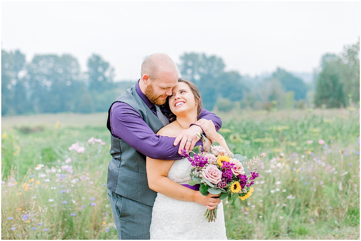 Sunflower themed wedding with purple accents, Emma Rose Company Seattle Wedding Photographer, Light and Airy photographer Kindred Presets Wedding Details PNW_0156.jpg