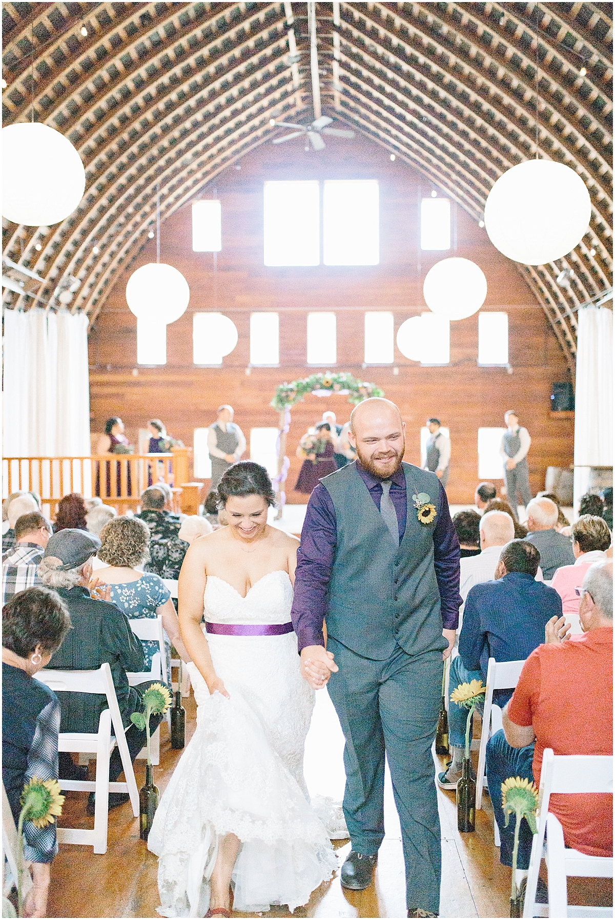 Sunflower themed wedding with purple accents, Emma Rose Company Seattle Wedding Photographer, Light and Airy photographer Kindred Presets Wedding Details PNW_0155.jpg