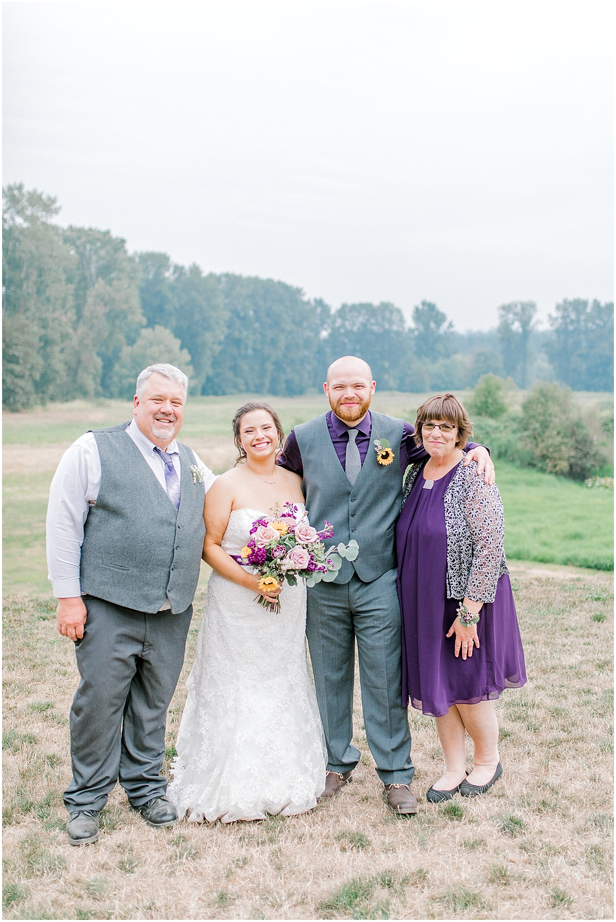 Sunflower themed wedding with purple accents, Emma Rose Company Seattle Wedding Photographer, Light and Airy photographer Kindred Presets Wedding Details PNW_0161.jpg