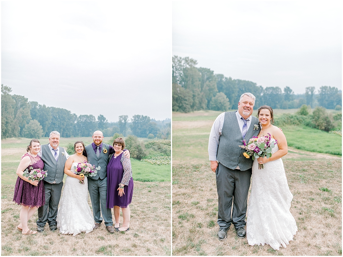 Sunflower themed wedding with purple accents, Emma Rose Company Seattle Wedding Photographer, Light and Airy photographer Kindred Presets Wedding Details PNW_0163.jpg
