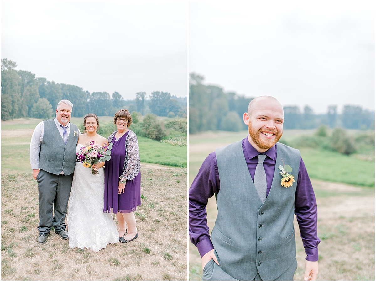 Sunflower themed wedding with purple accents, Emma Rose Company Seattle Wedding Photographer, Light and Airy photographer Kindred Presets Wedding Details PNW_0167.jpg