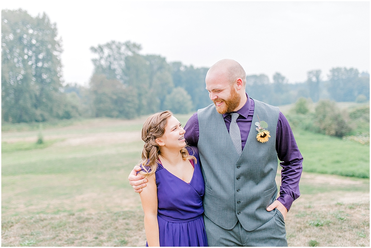 Sunflower themed wedding with purple accents, Emma Rose Company Seattle Wedding Photographer, Light and Airy photographer Kindred Presets Wedding Details PNW_0169.jpg