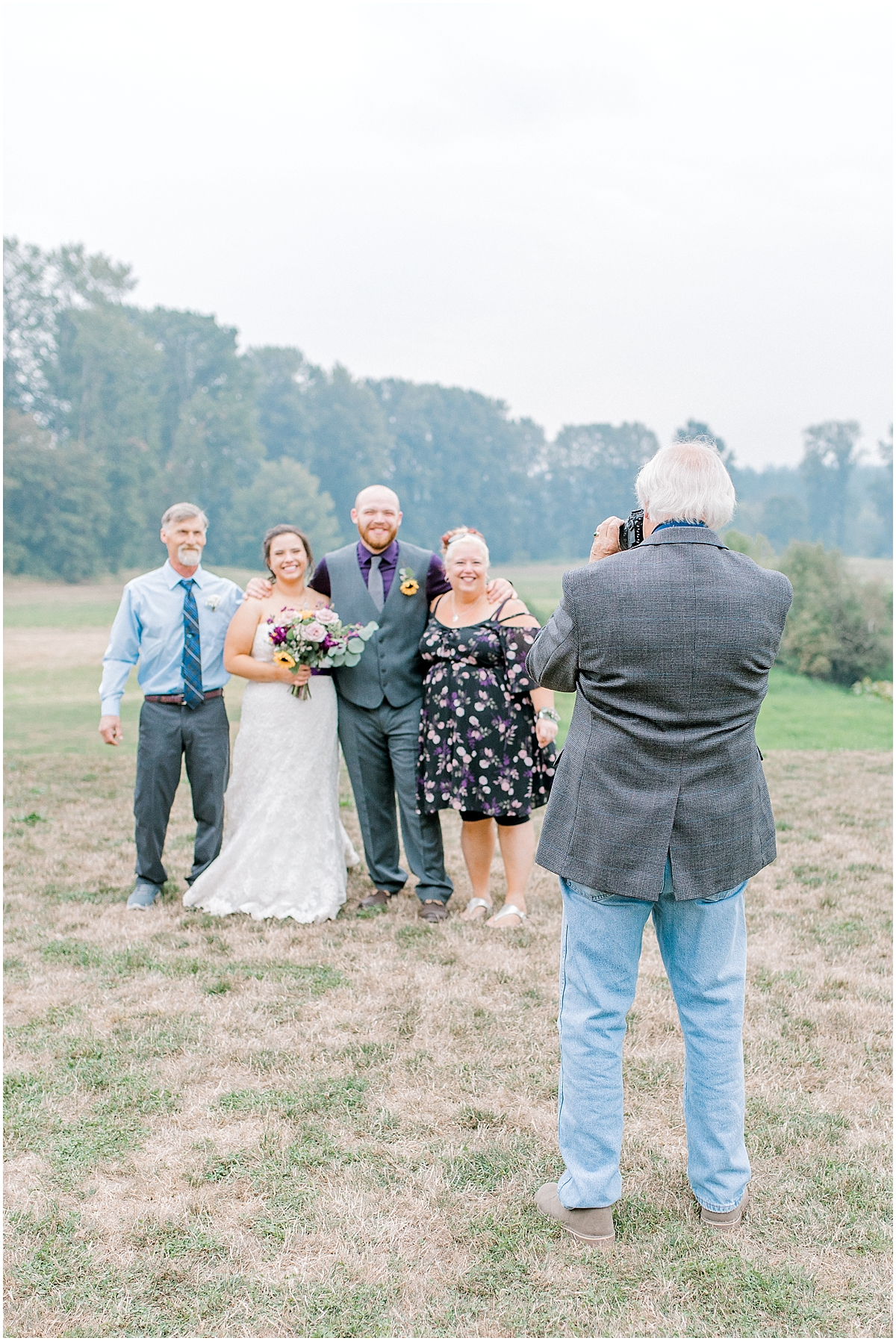 Sunflower themed wedding with purple accents, Emma Rose Company Seattle Wedding Photographer, Light and Airy photographer Kindred Presets Wedding Details PNW_0172.jpg