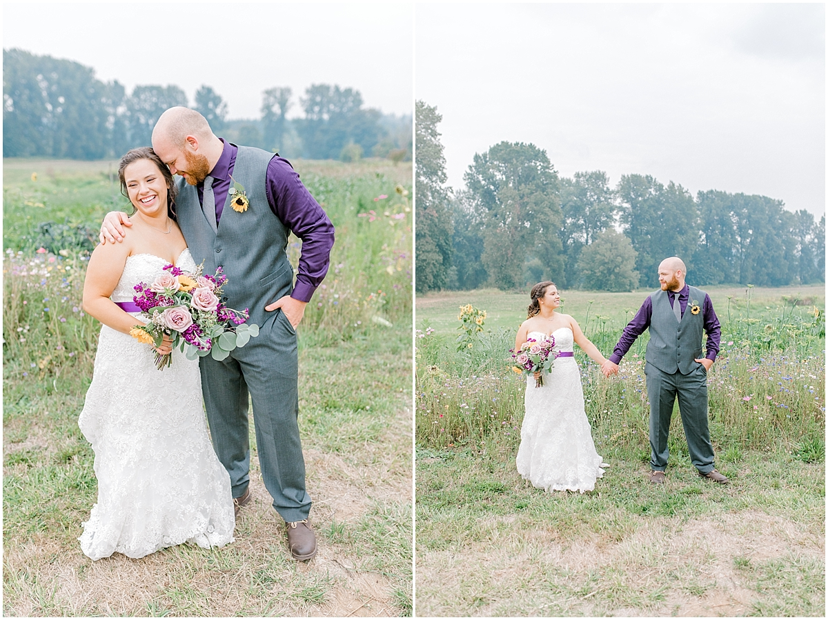 Sunflower themed wedding with purple accents, Emma Rose Company Seattle Wedding Photographer, Light and Airy photographer Kindred Presets Wedding Details PNW_0175.jpg