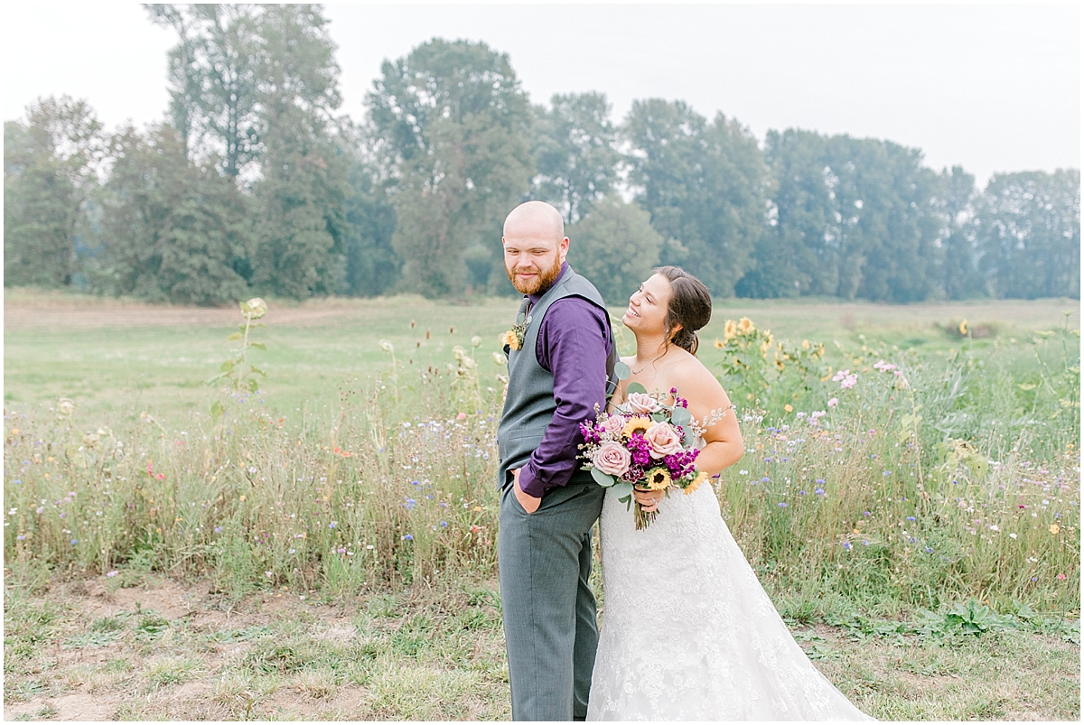 Sunflower themed wedding with purple accents, Emma Rose Company Seattle Wedding Photographer, Light and Airy photographer Kindred Presets Wedding Details PNW_0182.jpg
