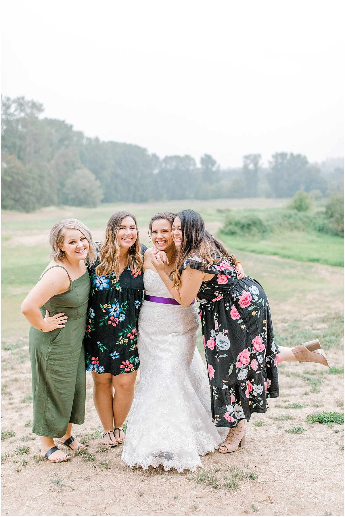 Sunflower themed wedding with purple accents, Emma Rose Company Seattle Wedding Photographer, Light and Airy photographer Kindred Presets Wedding Details PNW_0181.jpg