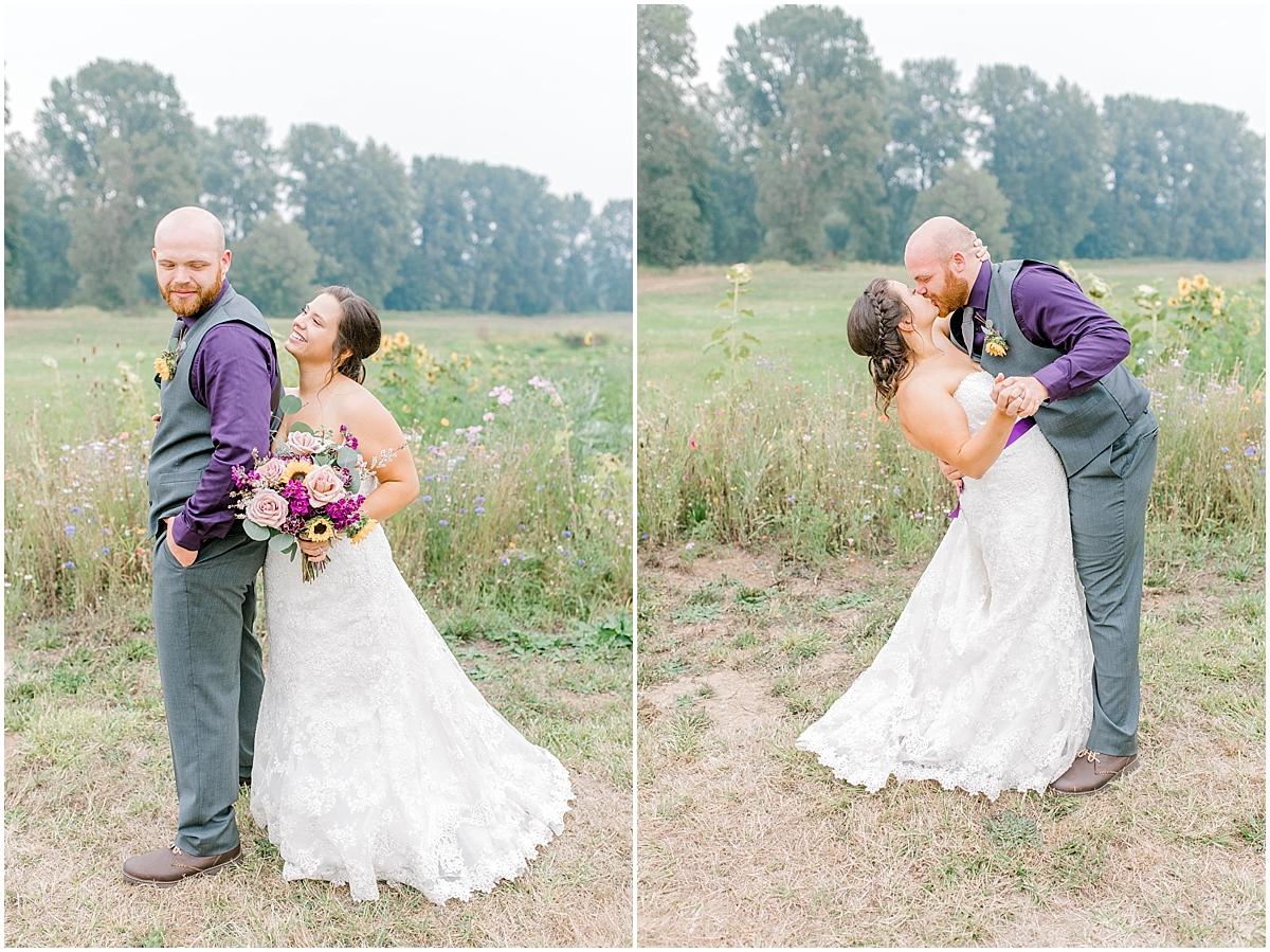 Sunflower themed wedding with purple accents, Emma Rose Company Seattle Wedding Photographer, Light and Airy photographer Kindred Presets Wedding Details PNW_0183.jpg