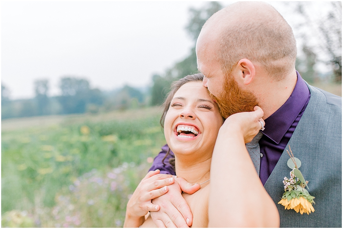 Sunflower themed wedding with purple accents, Emma Rose Company Seattle Wedding Photographer, Light and Airy photographer Kindred Presets Wedding Details PNW_0185.jpg