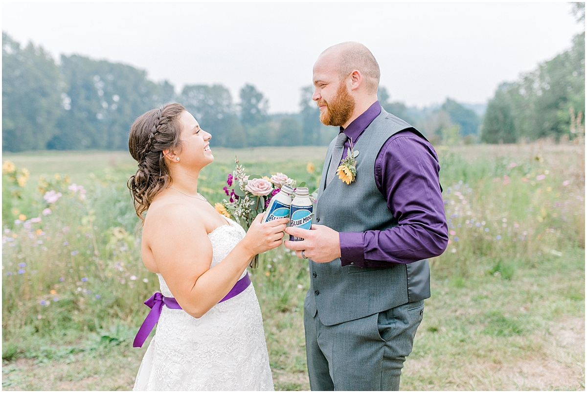 Sunflower themed wedding with purple accents, Emma Rose Company Seattle Wedding Photographer, Light and Airy photographer Kindred Presets Wedding Details PNW_0186.jpg