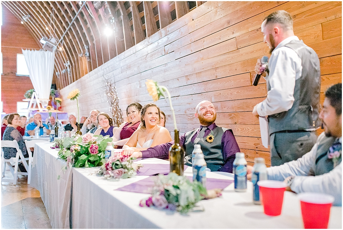 Sunflower themed wedding with purple accents, Emma Rose Company Seattle Wedding Photographer, Light and Airy photographer Kindred Presets Wedding Details PNW_0196.jpg