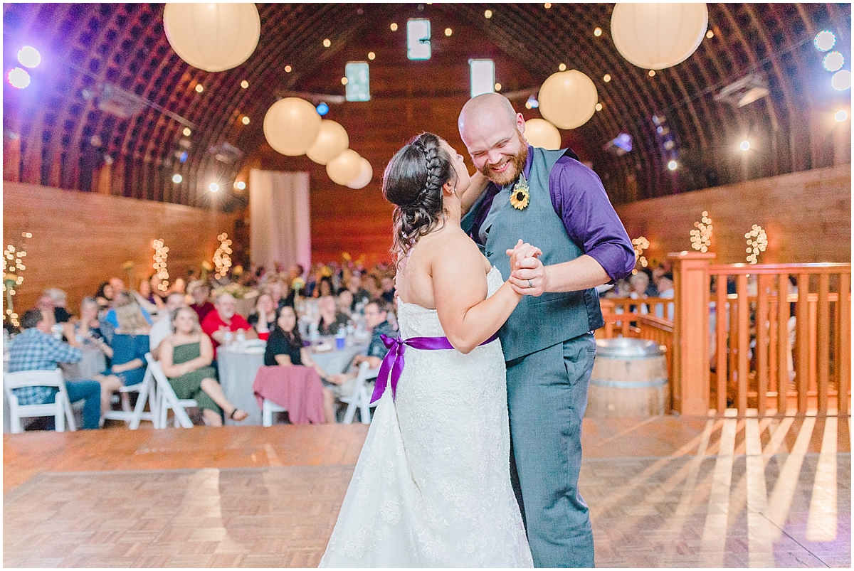 Sunflower themed wedding with purple accents, Emma Rose Company Seattle Wedding Photographer, Light and Airy photographer Kindred Presets Wedding Details PNW_0197.jpg