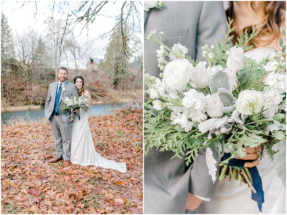 Chehalis Washington Winter Wedding Silver and White | Willapa Hills Farm Wedding | Eastham | Emma Rose Company PNW Light and Airy Wedding Photographer_0025.jpg