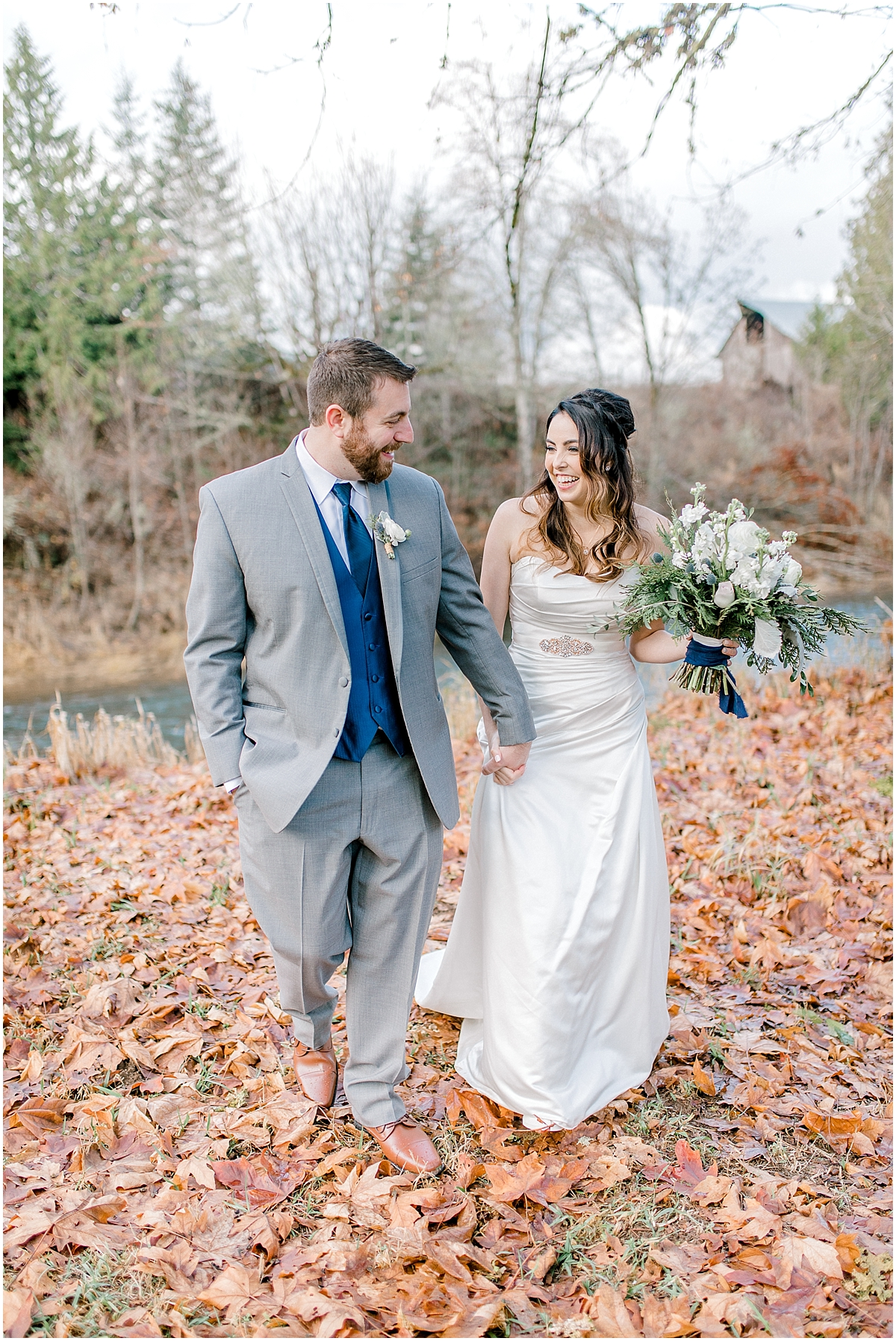 Chehalis Washington Winter Wedding Silver and White | Willapa Hills Farm Wedding | Eastham | Emma Rose Company PNW Light and Airy Wedding Photographer_0027.jpg