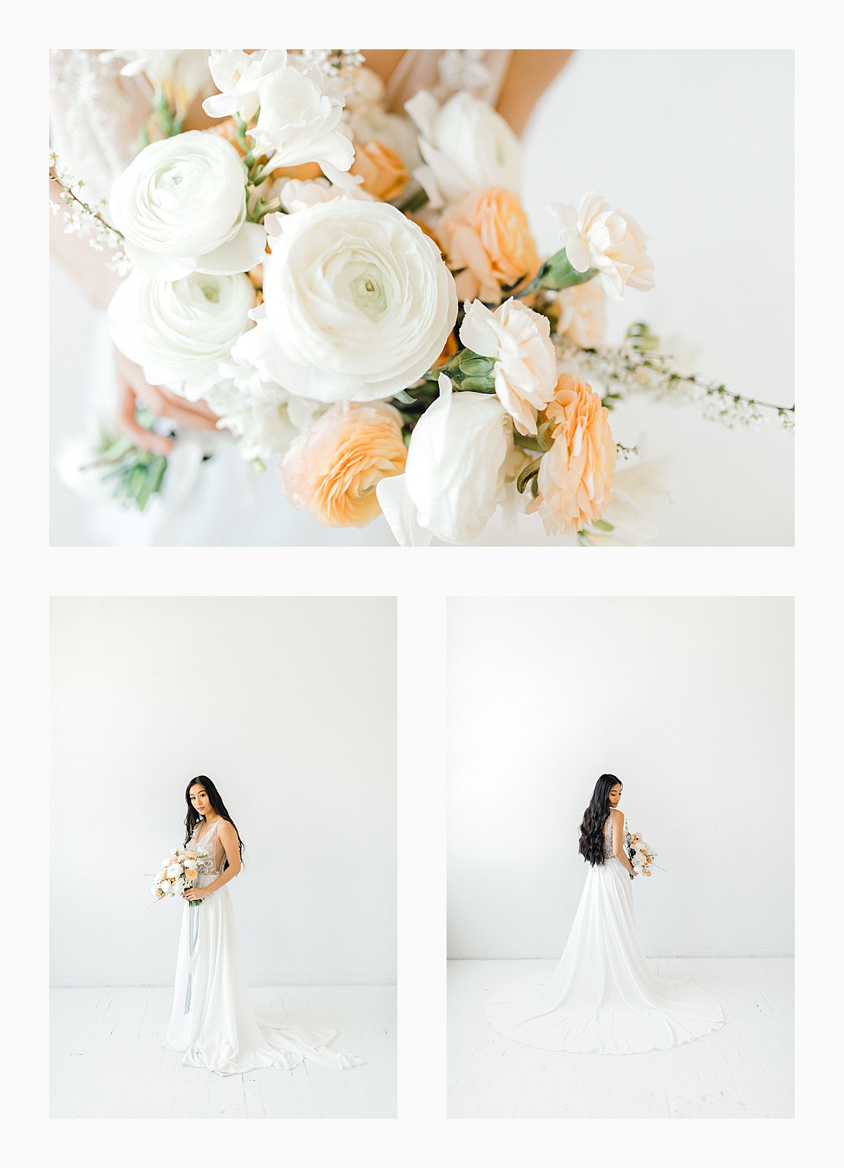 The Bemis Building in downtown Seattle is one of my favorite places to use for photo shoots!  This styled bridal shoot with touches of peach and white was dreamy.  #emmarosecompany #kindredpresets #seattlebride_0012.jpg