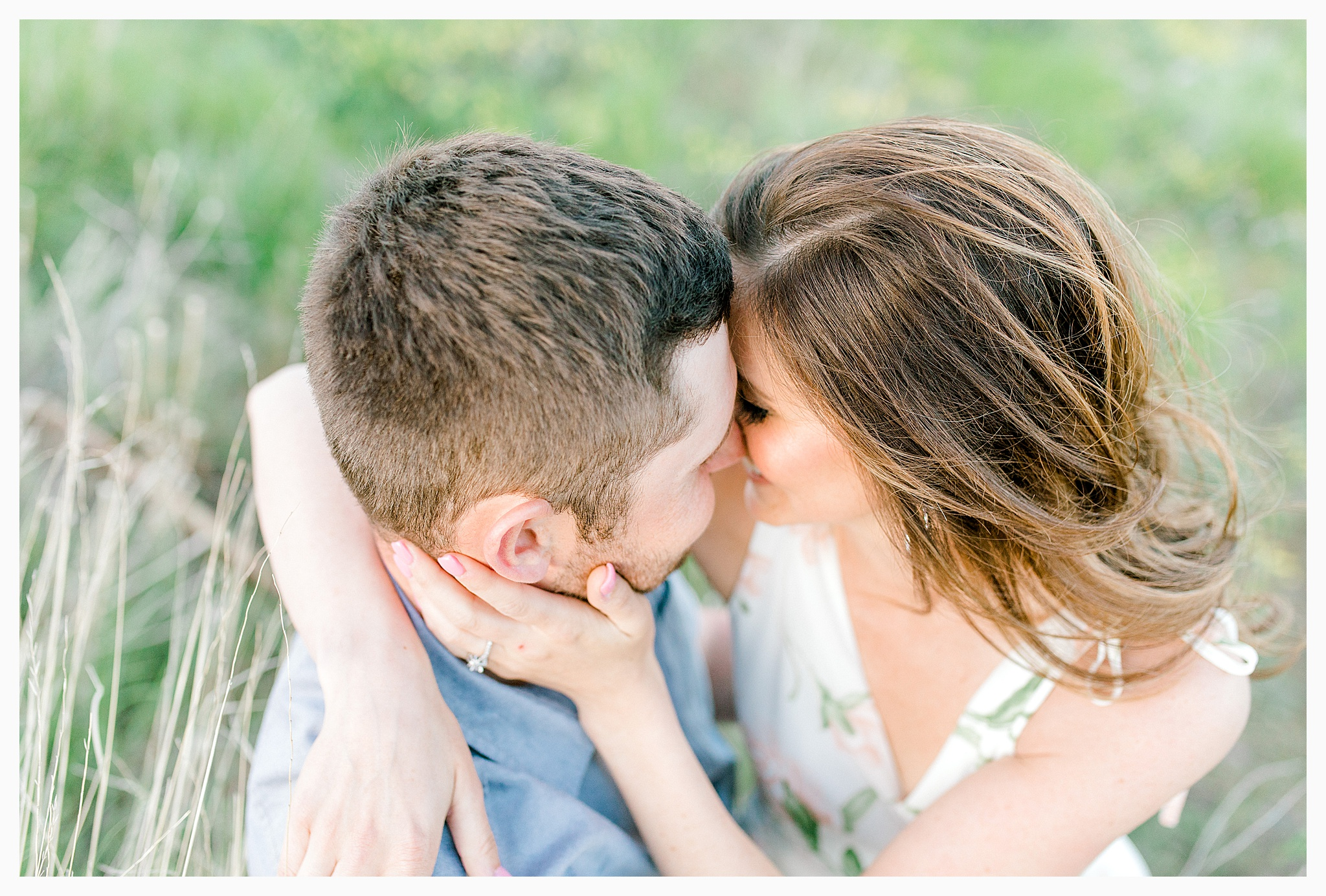 Engagement session amongst the wildflowers in Wenatchee, Washington | Engagement Session Outfit Inspiration for Wedding Photography with Emma Rose Company | Light and Airy PNW Photographer, Seattle Bride_0023.jpg