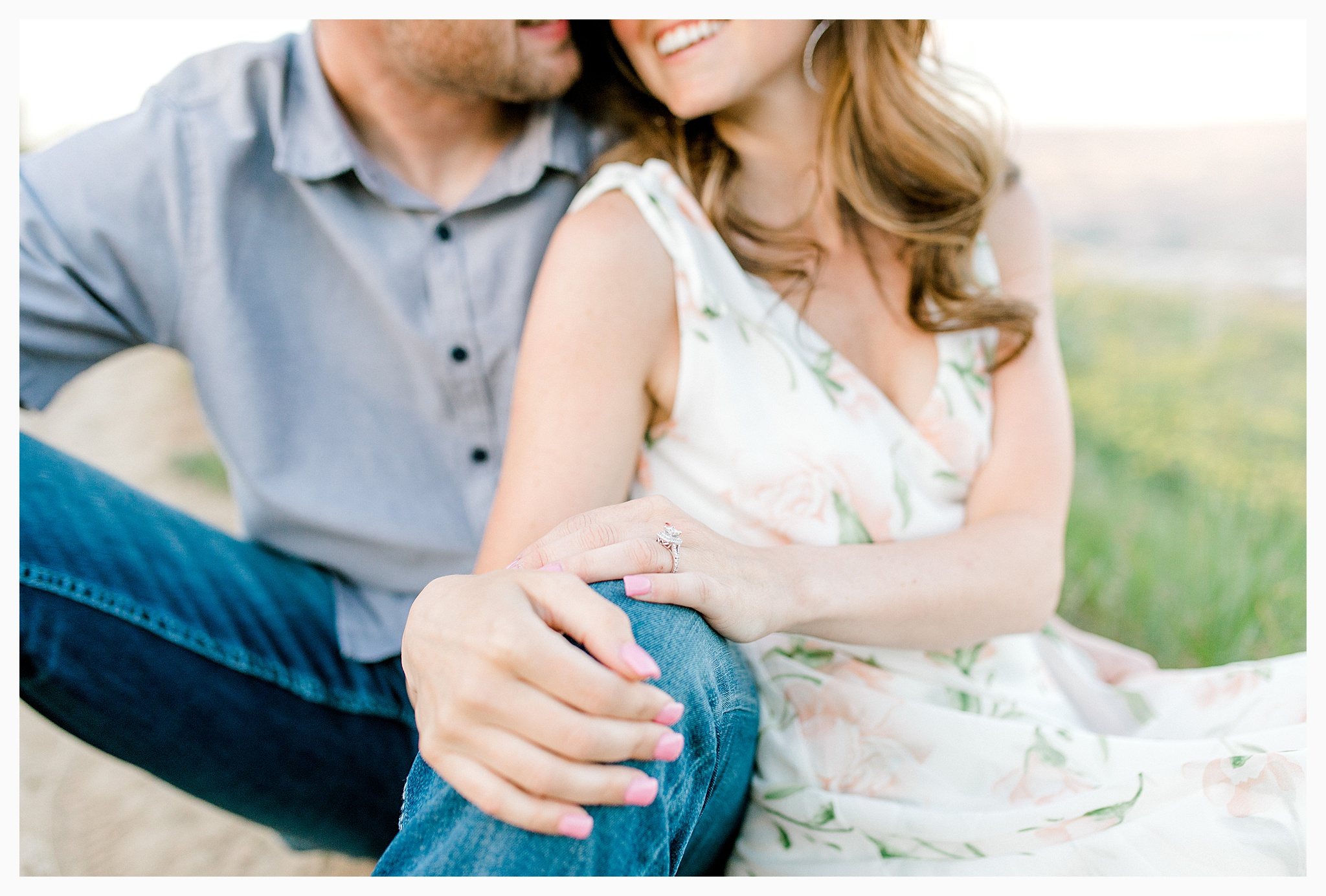Engagement session amongst the wildflowers in Wenatchee, Washington | Engagement Session Outfit Inspiration for Wedding Photography with Emma Rose Company | Light and Airy PNW Photographer, Seattle Bride_0028.jpg