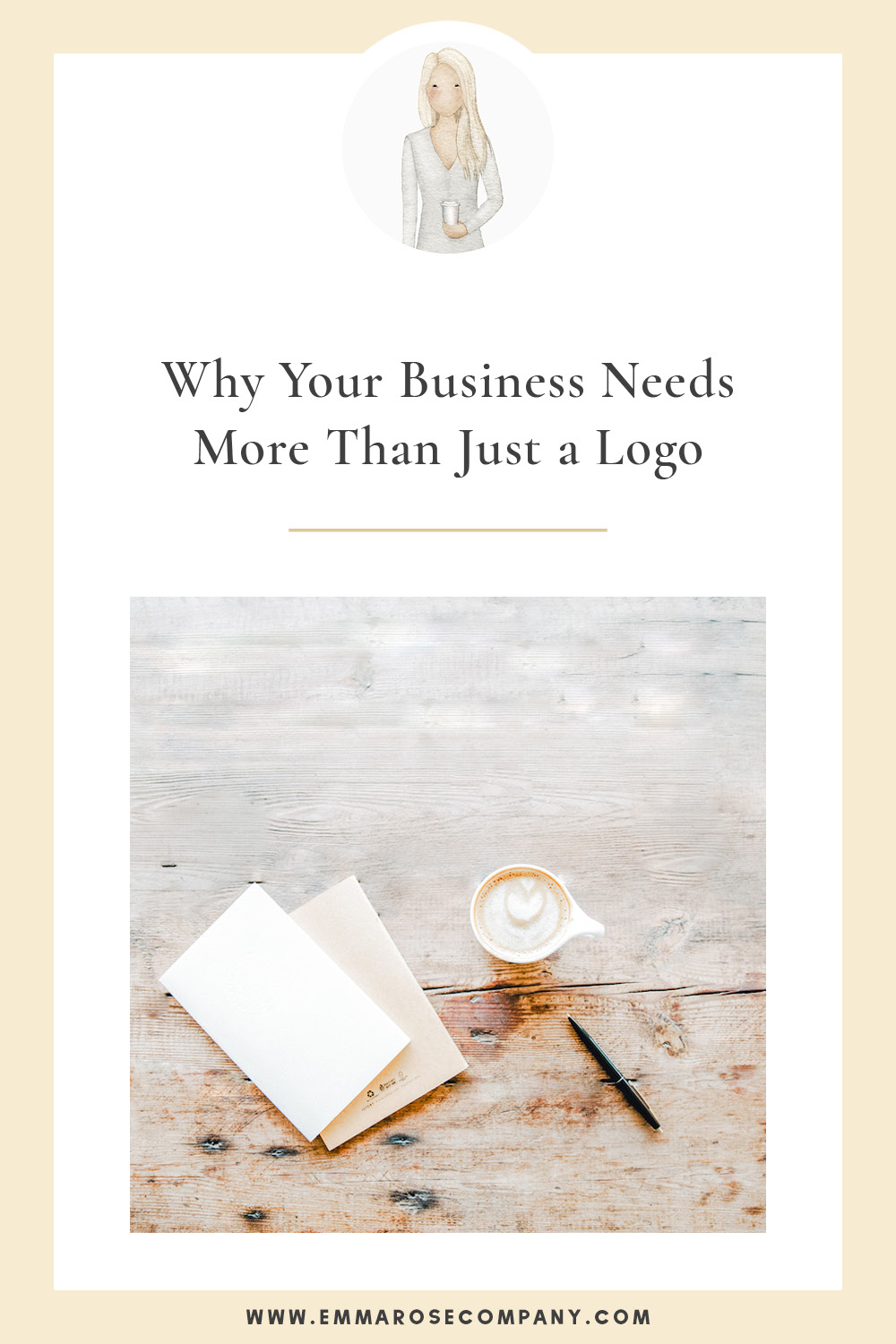 """I've heard it over and over again, """"Hi! I am starting a new business and need a new logo!"""" My first reaction is, """"Awesome!"""" and after I dig in I find that many business owners have given absolutely zero thought to their overall brand and aesthetic. Your business goes SO much deeper than a logo if you want to find success. You, my friend, need more than just a logo, you need a brand.  #logo #logodesigner #websitedesigner"""