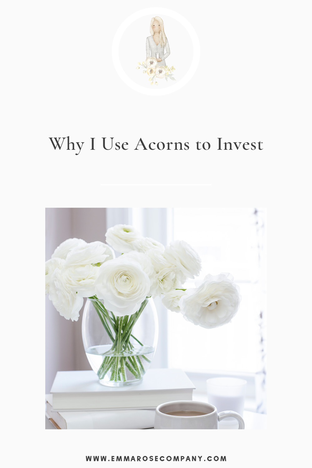Since I started my photography and web design business, I've been wanting to figure out a realistic way to start saving my money since I'm no longer working the regular 9-5 with a built in 401K.  I found Acorns and it's been a game-changer for saving money and investing! #acornsinvesting #invest #moneysaving