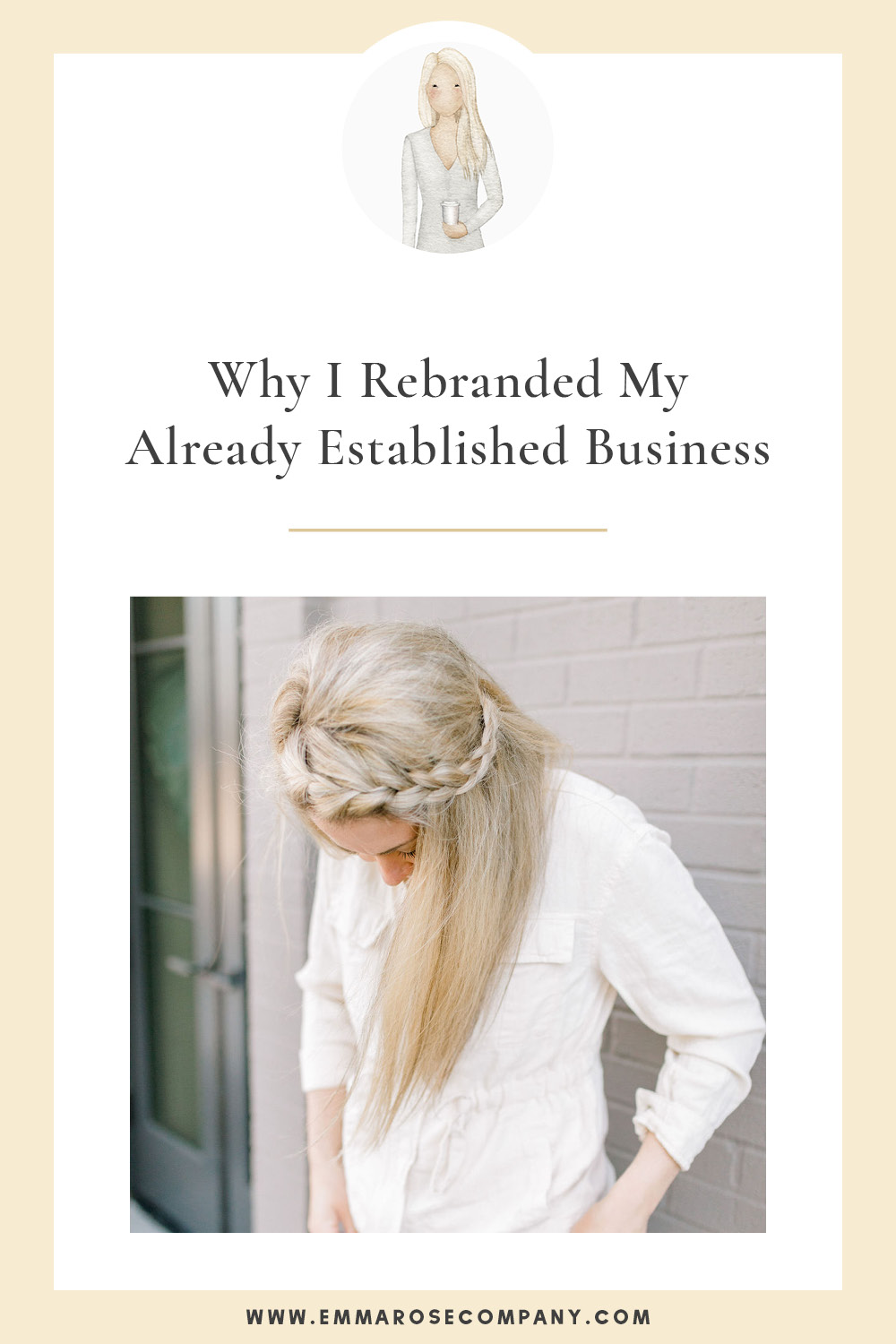 Why I rebranded my already established business | Rebranding and knowing when it's time | Creative business owner business tips