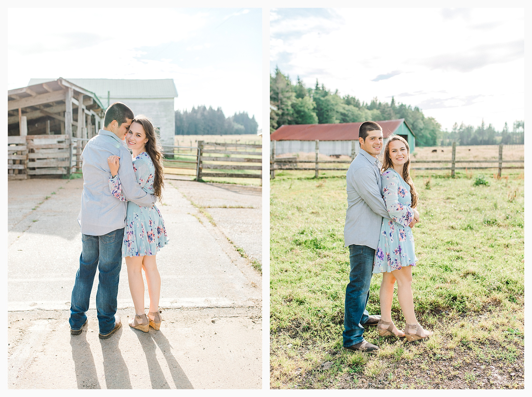 Beautiful evening engagement session on Rose Ranch, Emma Rose Company Seattle and Portland light and airy wedding and portrait photography, what to wear for pictures_0031.jpg