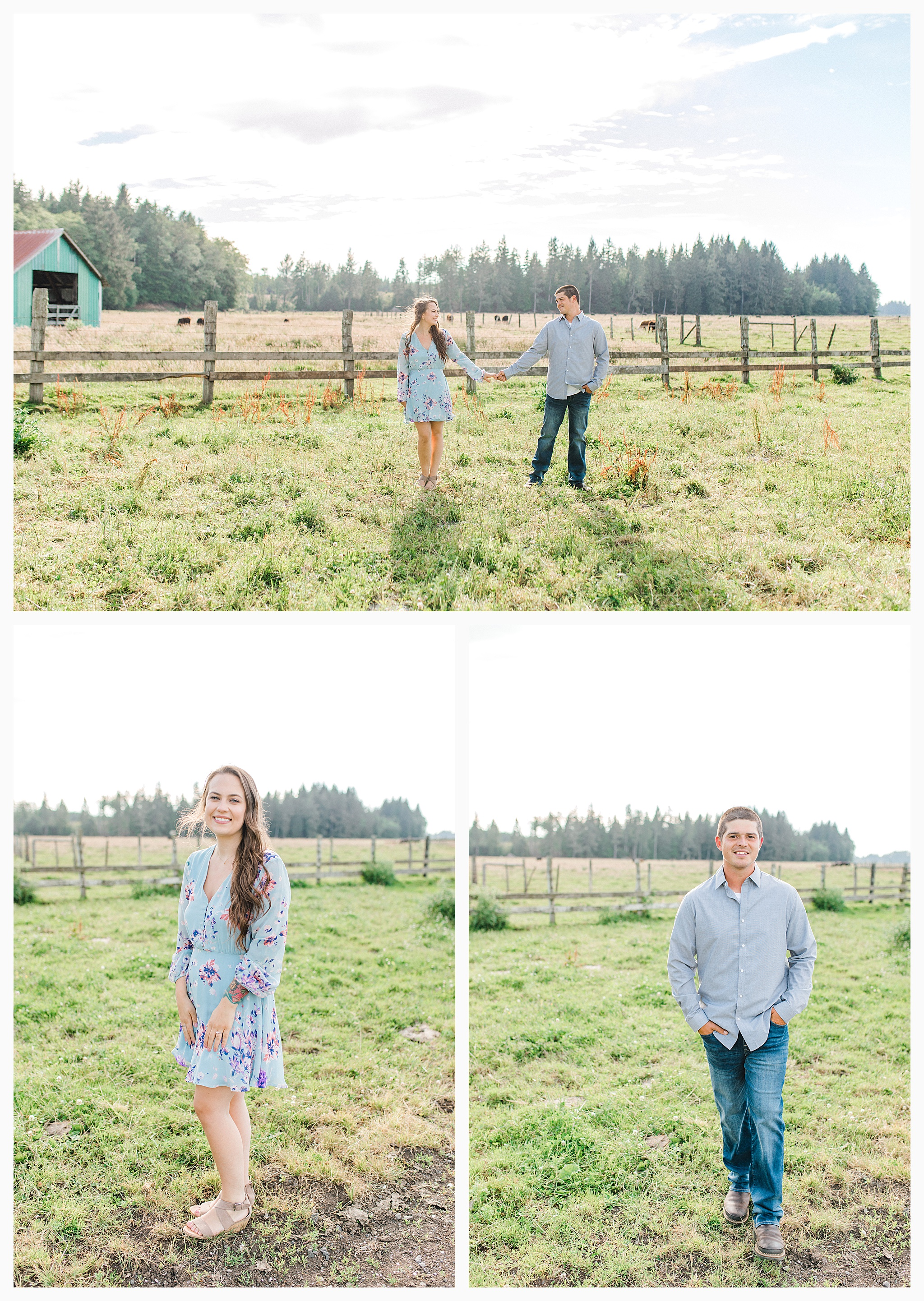 Beautiful evening engagement session on Rose Ranch, Emma Rose Company Seattle and Portland light and airy wedding and portrait photography, what to wear for pictures_0026.jpg