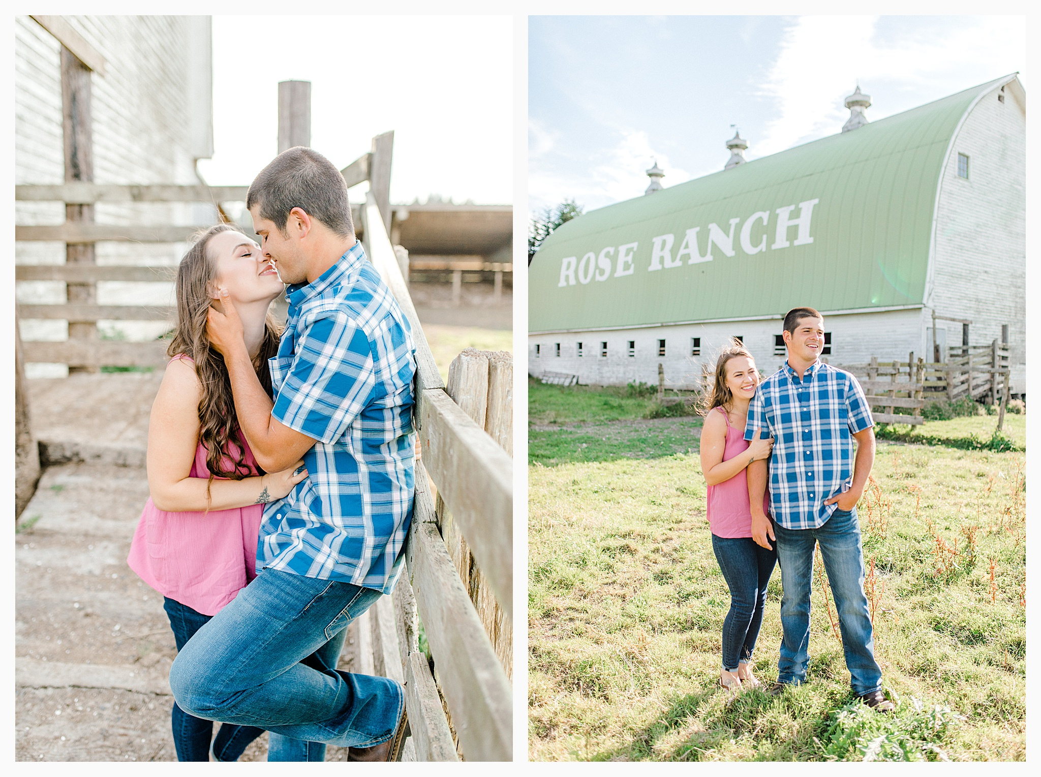Beautiful evening engagement session on Rose Ranch, Emma Rose Company Seattle and Portland light and airy wedding and portrait photography, what to wear for pictures_0015.jpg