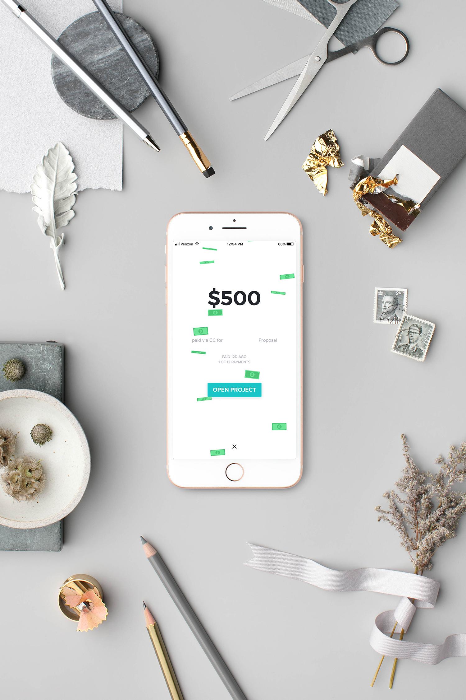 honeybook phone get paid.jpg
