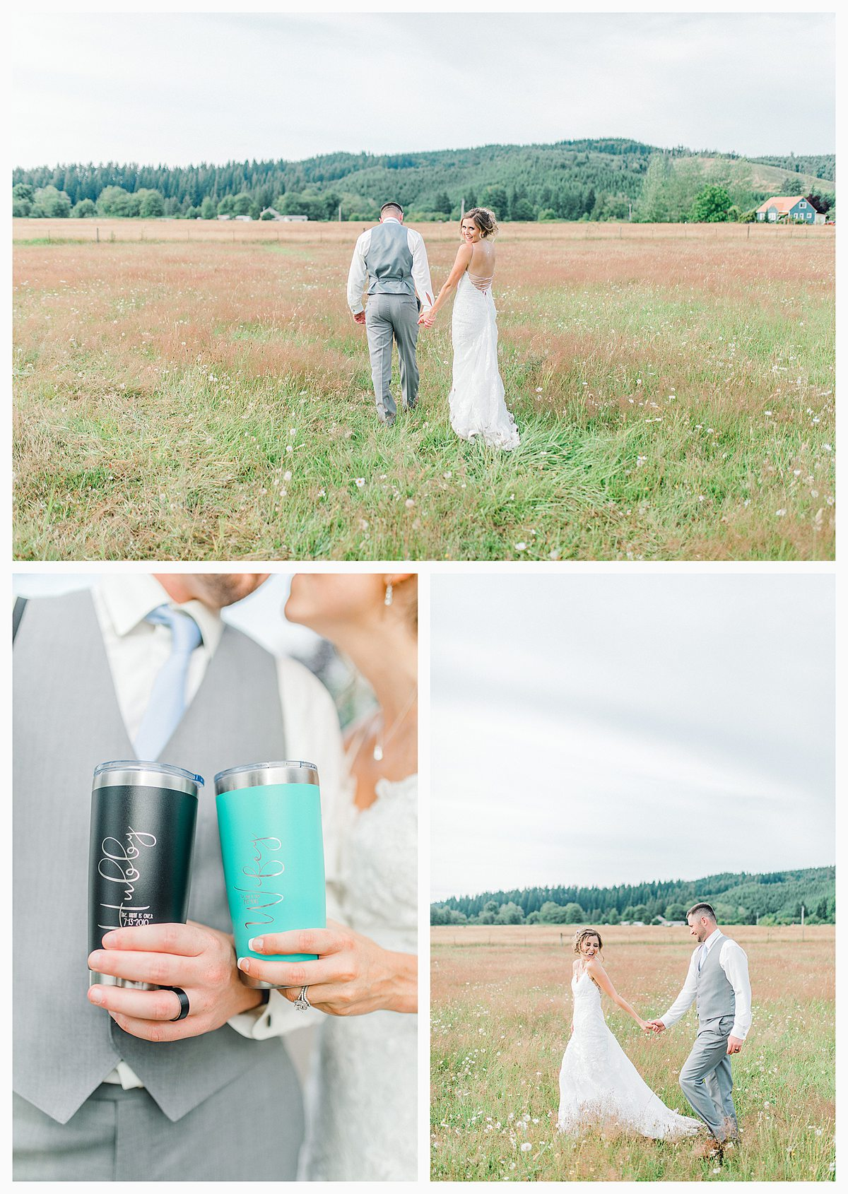 Rustic Coastal Blue Wedding in Southwest Washington, Emma Rose Company, Seattle and Portland Wedding Photographer, Light and Airy_0129.jpg