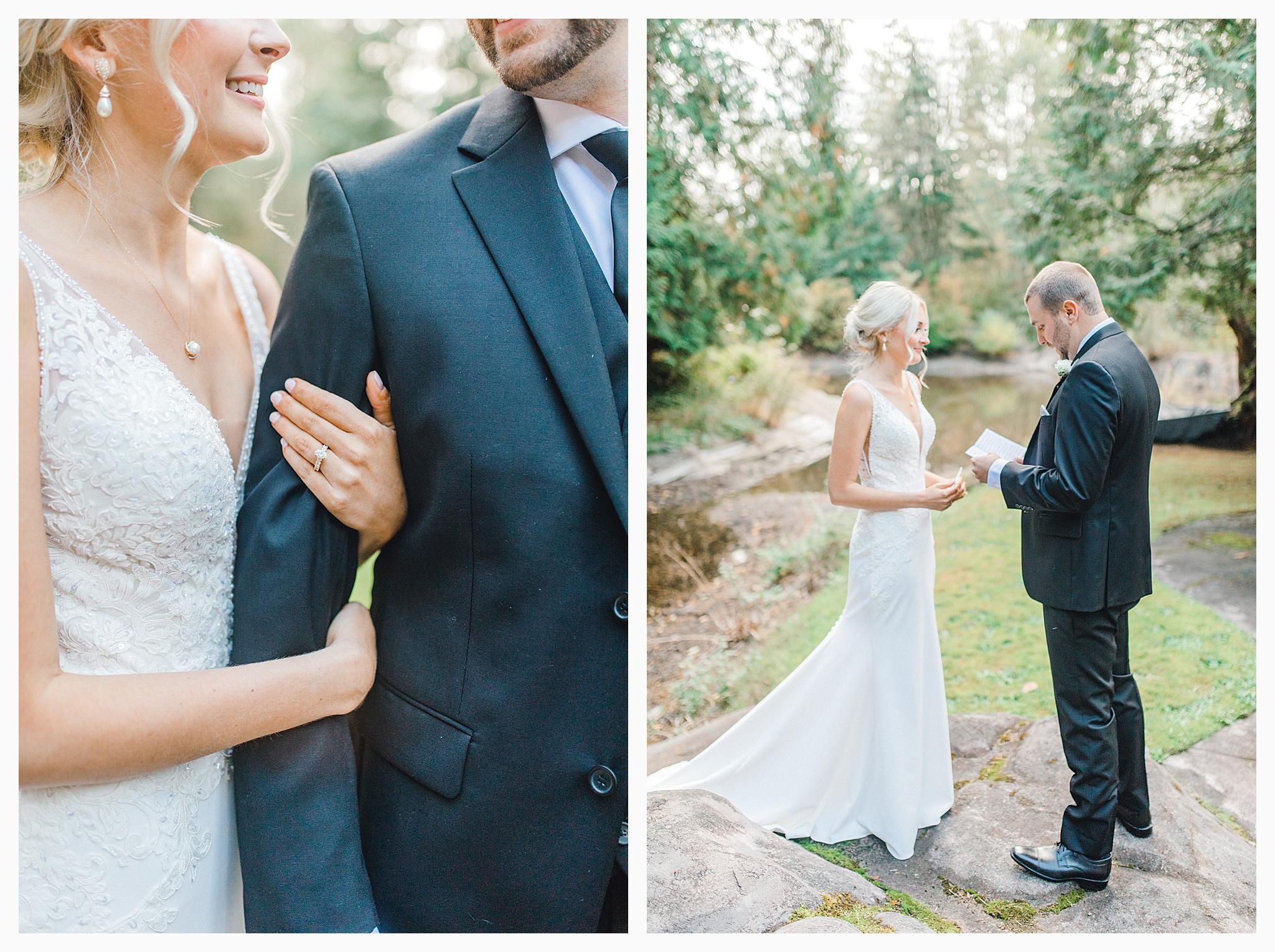 Emma Rose Company Light and Airy Wedding Photographer, Beautiful fall wedding at Rock Creek Gardens Venue in Puyallup, Washington._0027.jpg