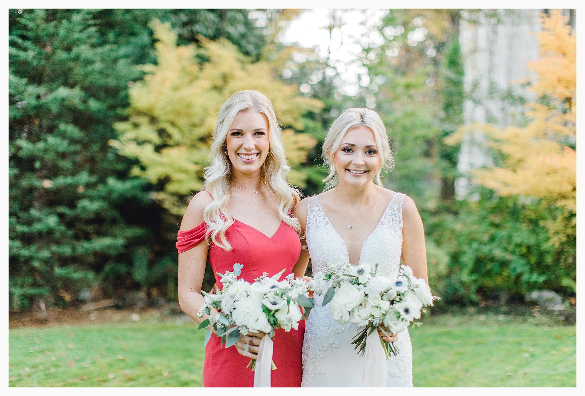 Emma Rose Company Light and Airy Wedding Photographer, Beautiful fall wedding at Rock Creek Gardens Venue in Puyallup, Washington._0045.jpg