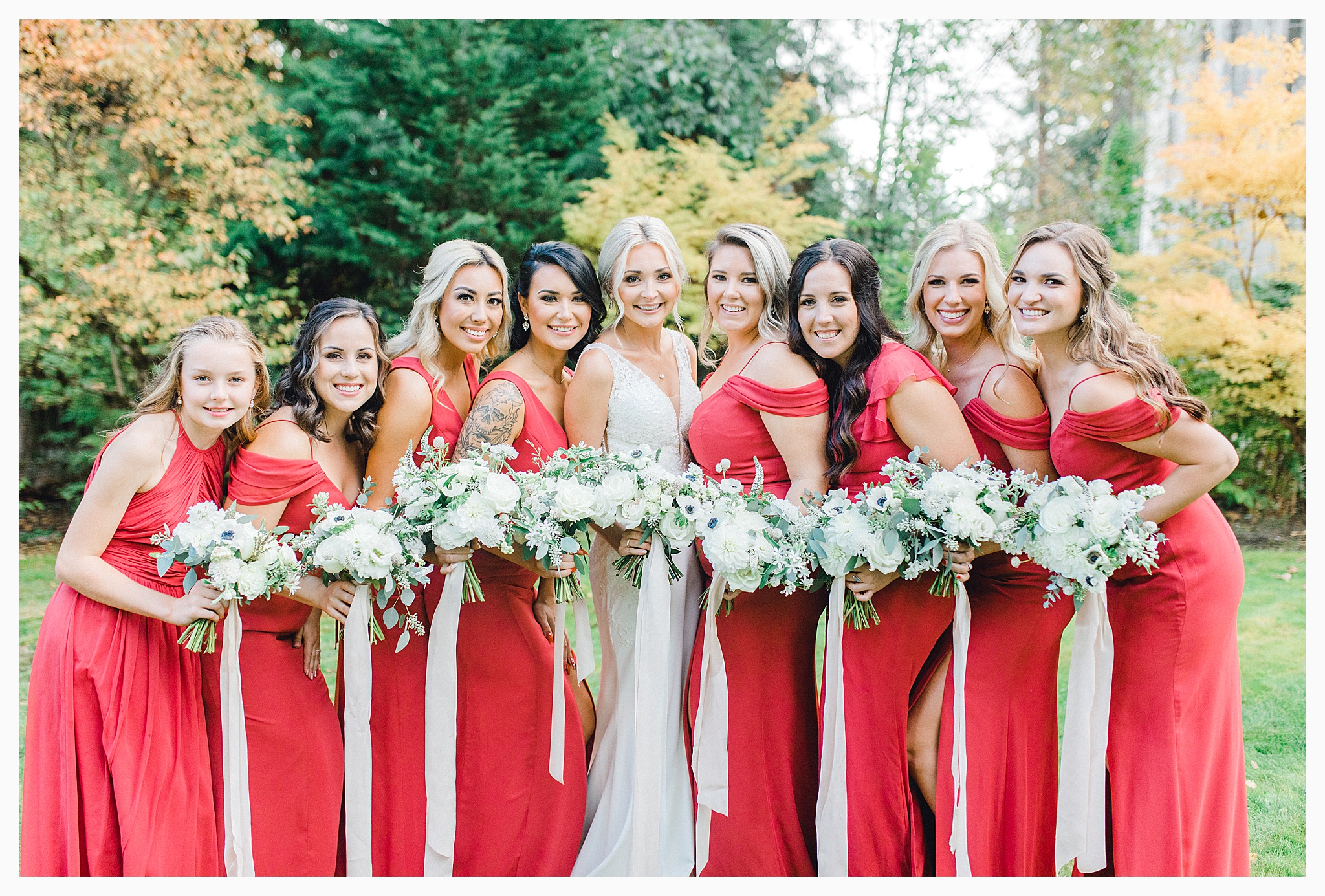 Emma Rose Company Light and Airy Wedding Photographer, Beautiful fall wedding at Rock Creek Gardens Venue in Puyallup, Washington._0056.jpg