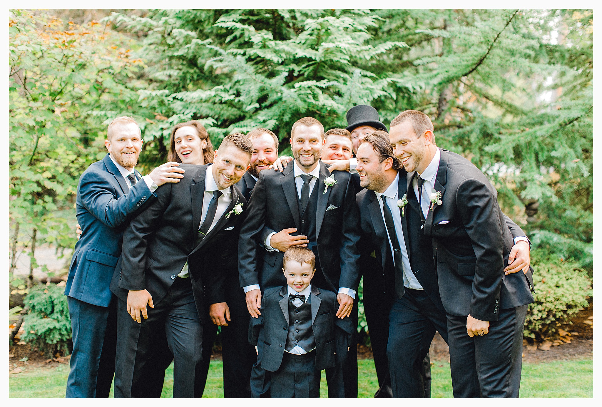 Emma Rose Company Light and Airy Wedding Photographer, Beautiful fall wedding at Rock Creek Gardens Venue in Puyallup, Washington._0058.jpg