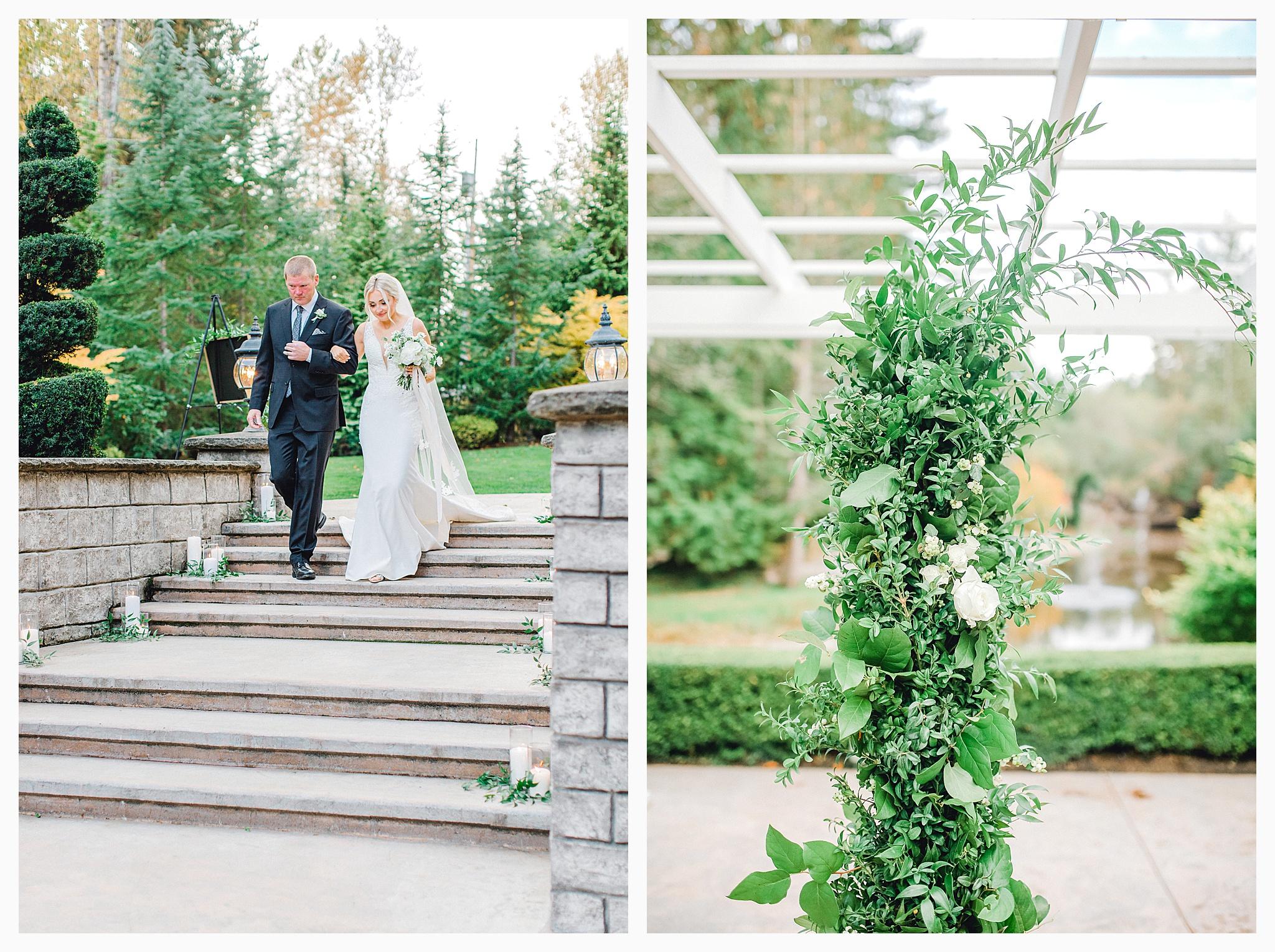 Emma Rose Company Light and Airy Wedding Photographer, Beautiful fall wedding at Rock Creek Gardens Venue in Puyallup, Washington._0073.jpg