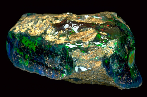 The Roebling Opal,2,565 carats. At the Smithsonian National Museum of Natural History