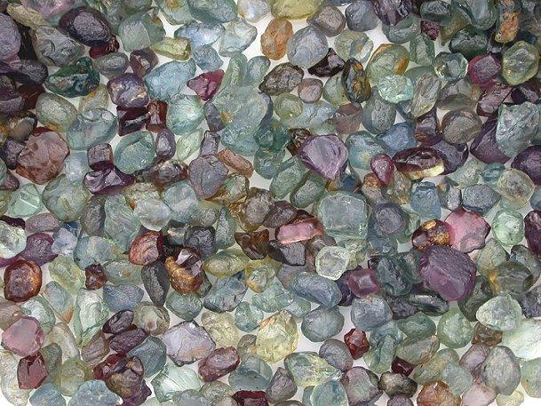 The spectrum of corundum