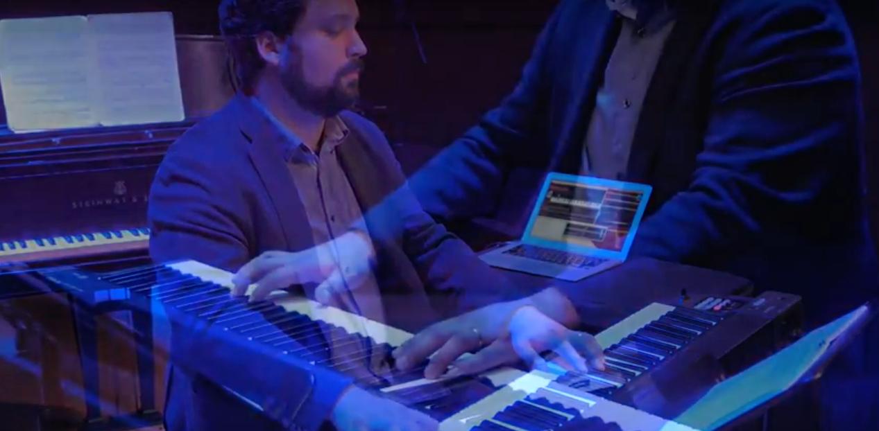 Adam Sliwinski plays Cygnet for solo bitKlavier (Princeton, NJ).