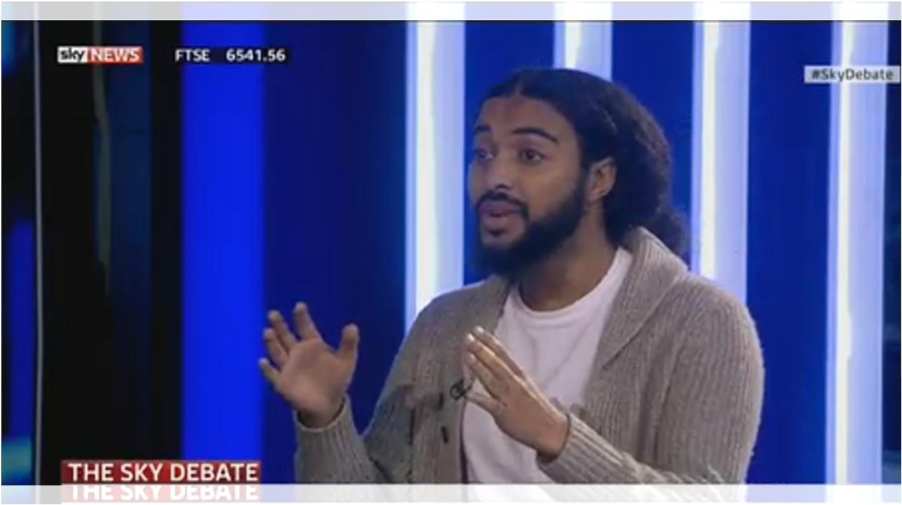 #Skydebate, sky news, 2015