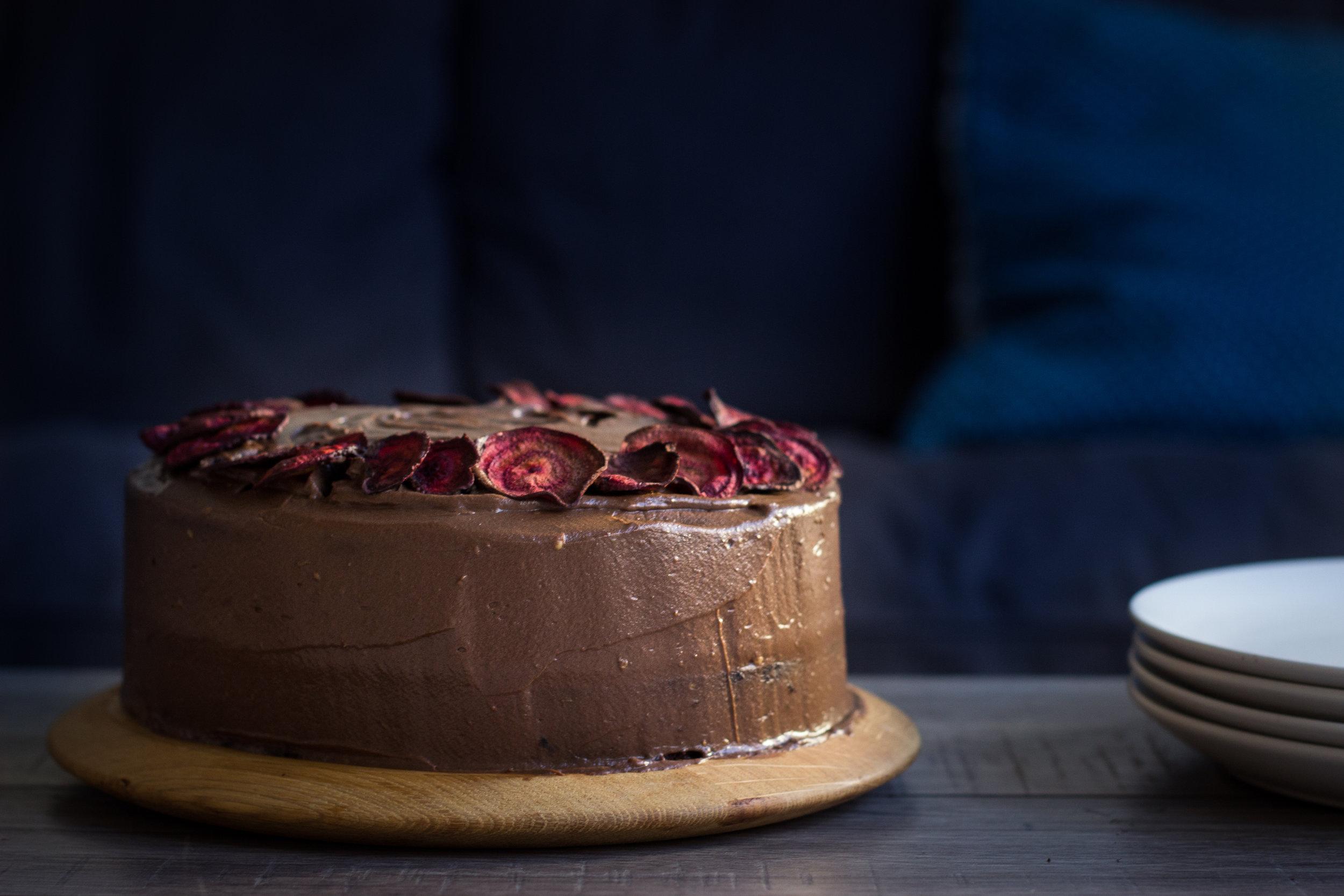 VEGAN, GLUTEN FREE CHOCOLATE BEET CAKE for  Babease.co