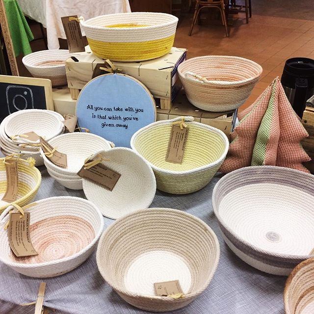 Come visit the first annual Holiday Craft Fair at the Churchville Nature Center in Churchville, PA. We'll be here 10-4!  #ropebowl #ropebasket #buckscounty #buckscountypa #newtownpa