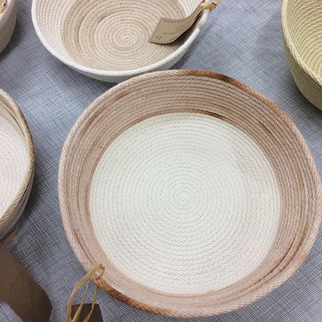 We're back at it again today! Visit us at the Churchville Nature Center in Churchville, PA from 10-4!  #ropebowls #ropebaskets #buckscounty #buckscountypa