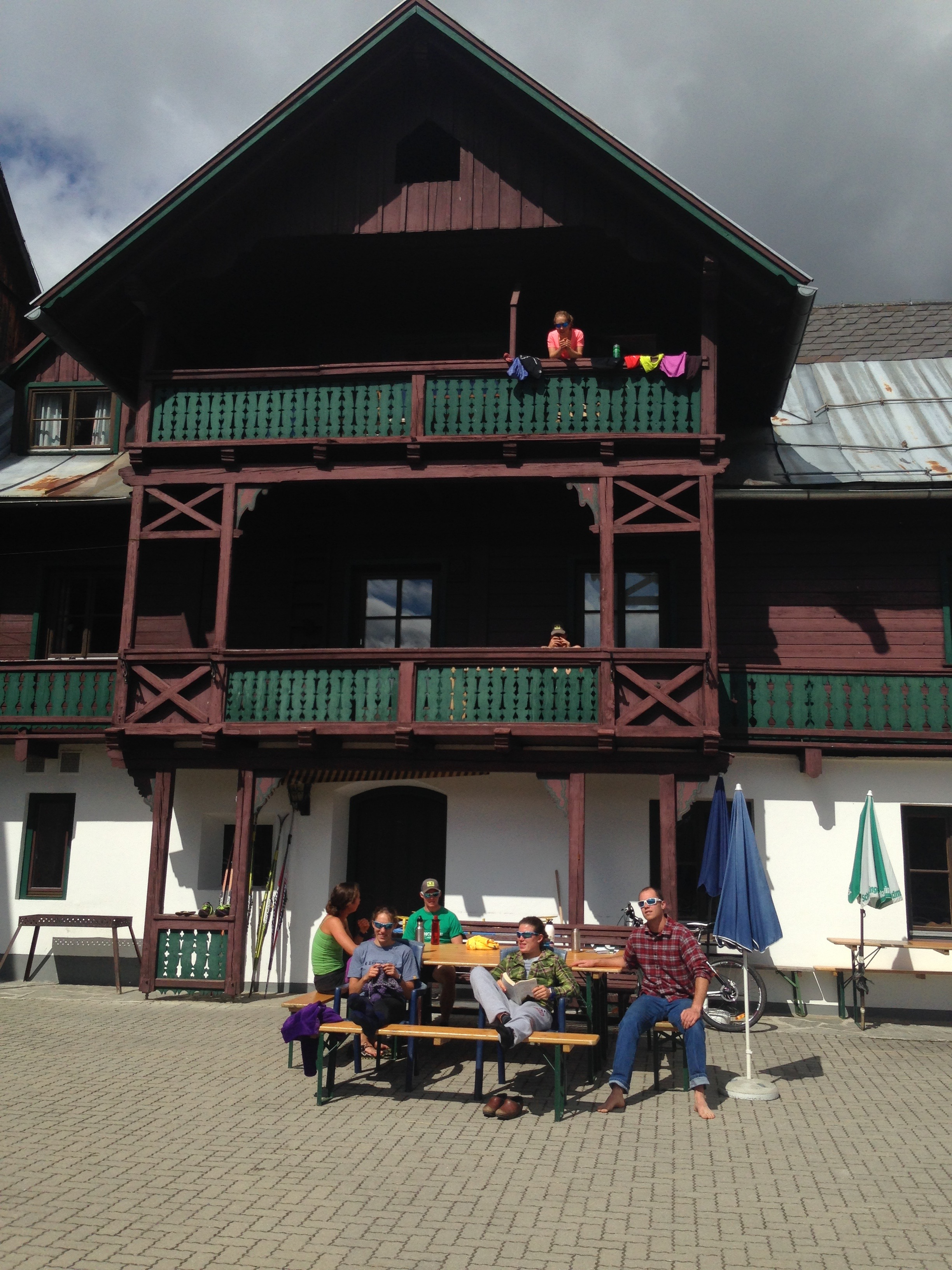 Our home in Austria.