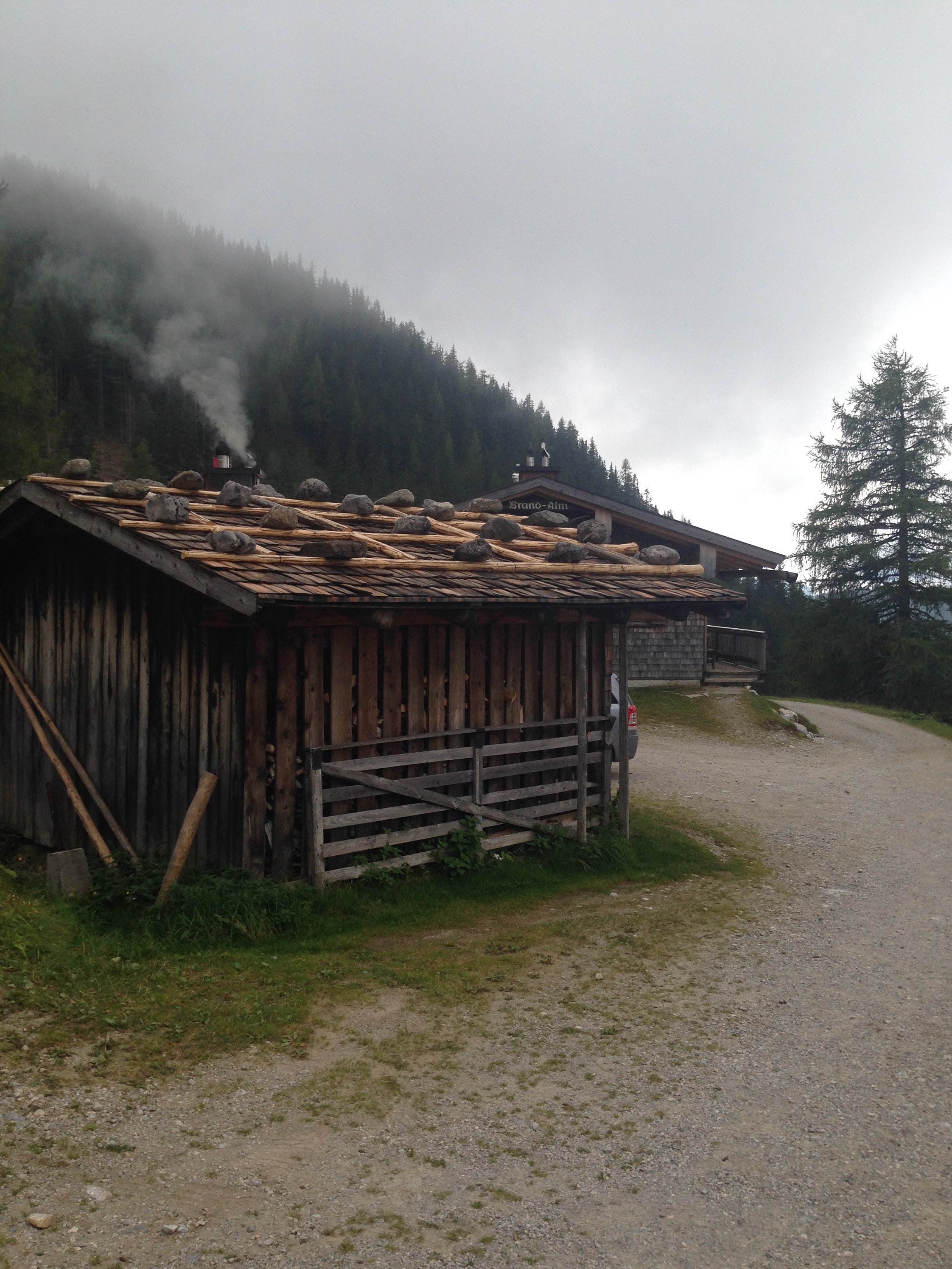 Roofs don't blow away in Austria.