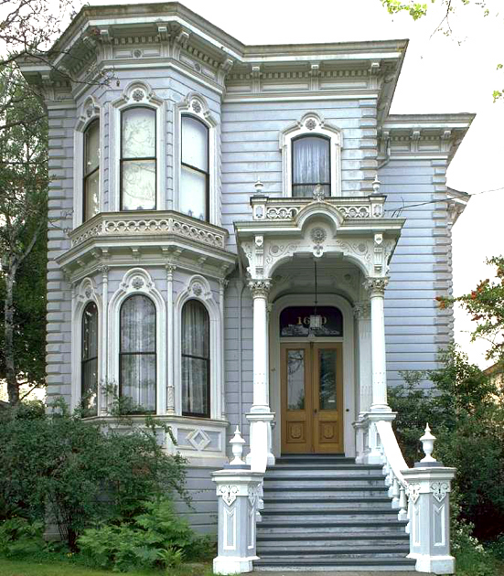 A typical Italianate home. http://faculty.wcas.northwestern.edu/~infocom/scndempr/bedbreak/west/Cali01.jpg