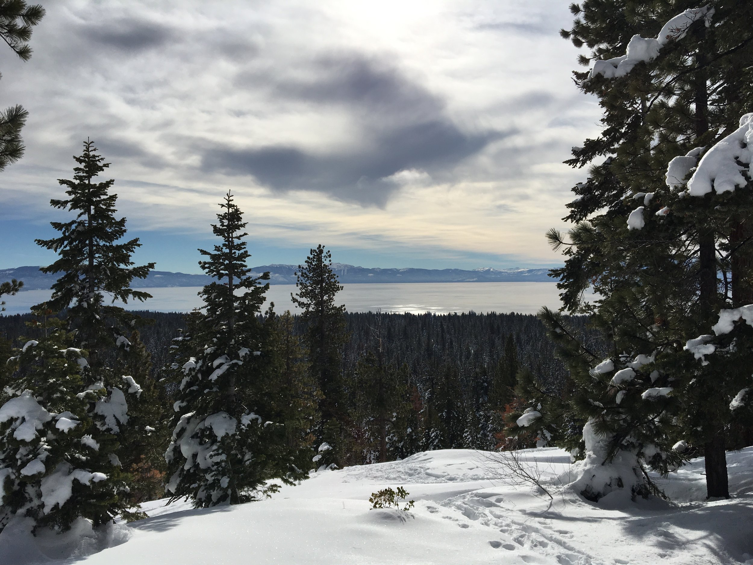 A perfect Lake Tahoe day (Tahoe XC, Kait Miller photo)