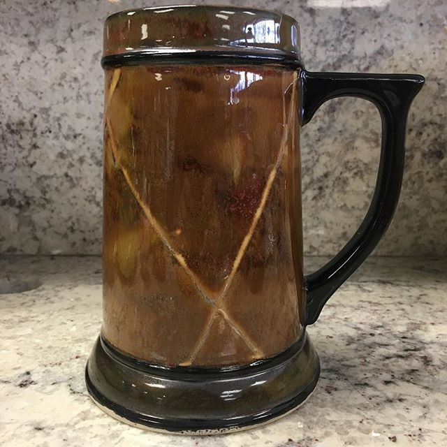 Beer stein holiday gift. #maycoatwork #stoneware
